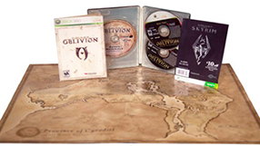 The Elders Scrolls IV Oblivion collector's edition xbox 360